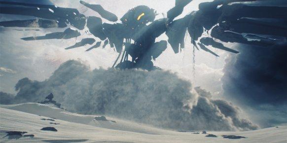 Imagen del tráiler del nuevo Halo que hay en marcha para Xbox One