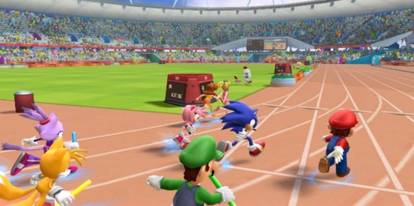Mario y Sonic JJOO - London 2012 an�lisis