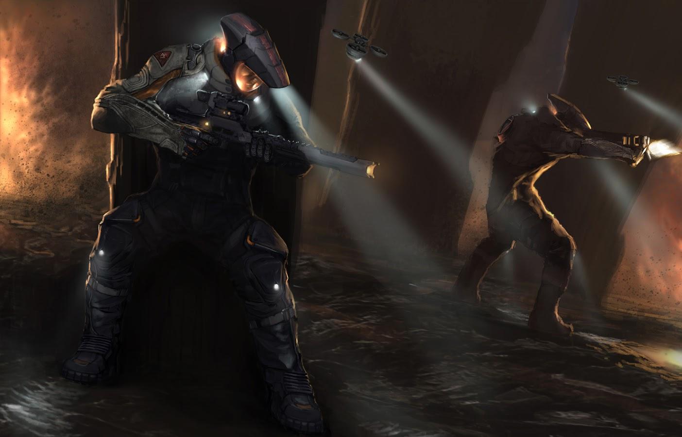 Así era Darkside, el videojuego cancelado de Sony Santa Monica en PS4