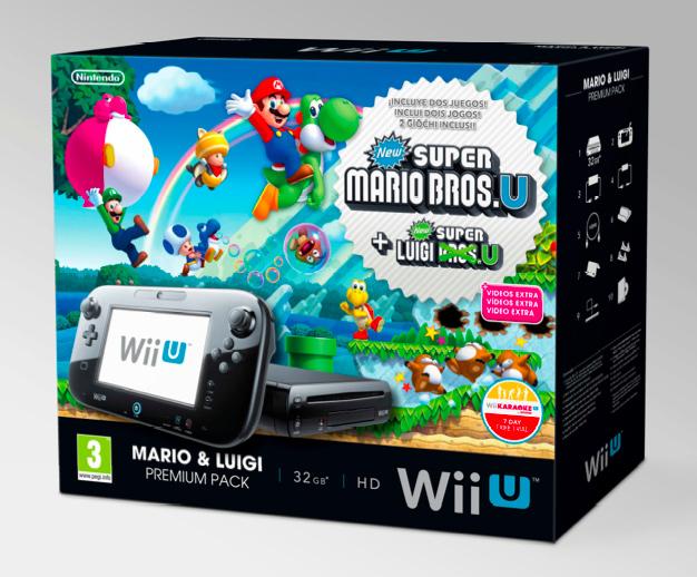 Nintendo anuncia tres nuevos packs de Wii U para estas Navidades