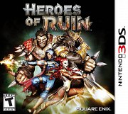 Carátula de Heroes of Ruin - 3DS