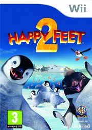 Carátula de Happy Feet 2 - Wii