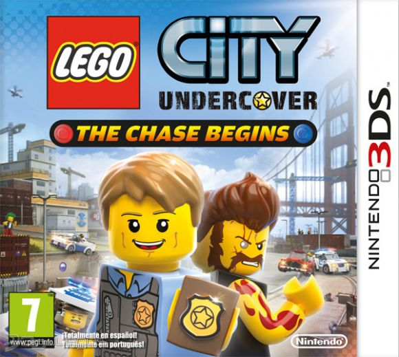 Lego City Undercover The Chase Begins Para 3ds 3djuegos