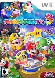 Carátula de Mario Party 9 - Wii