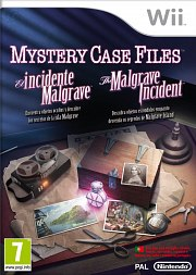 Carátula de Mystery Case Files: The Malgrave - Wii