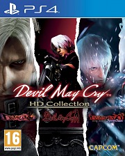 Carátula de Devil May Cry HD Collection - PS4