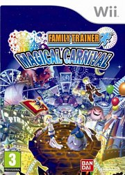 Carátula de Family Trainer Magical Carnival - Wii