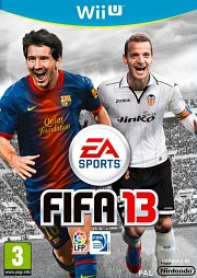 Carátula de FIFA 13 - Wii U