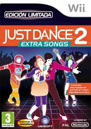 Carátula de Just Dance 2: Extra Songs - Wii