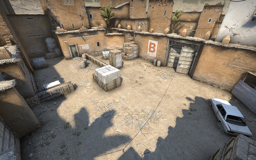 Ya disponible el renovado Dust2 en Counter Strike: Global Offensive