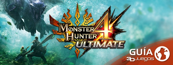Guía Monster Hunter 4 Ultimate