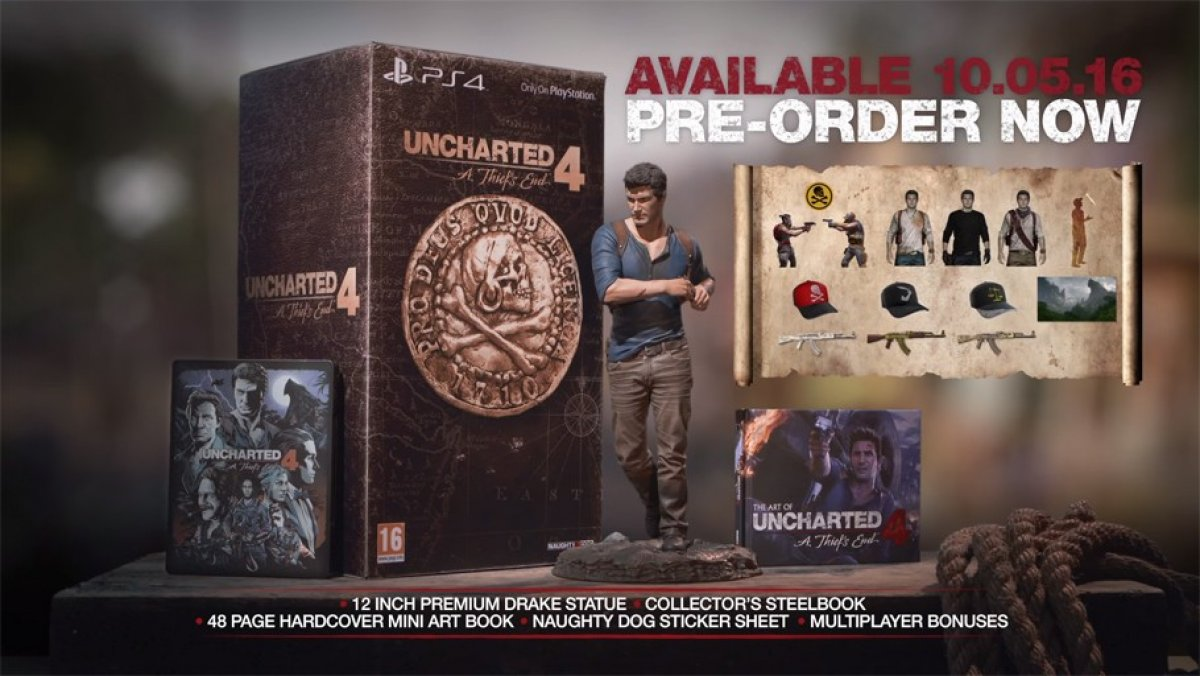 Uncharted 4: Libertalia Collectors Edition (PS4)
