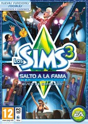 Carátula de Los Sims 3: Salto a la Fama - PC