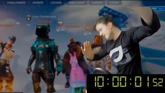 """Fortnite: 10 horas de """"dab"""" por 2 mil dólares"""