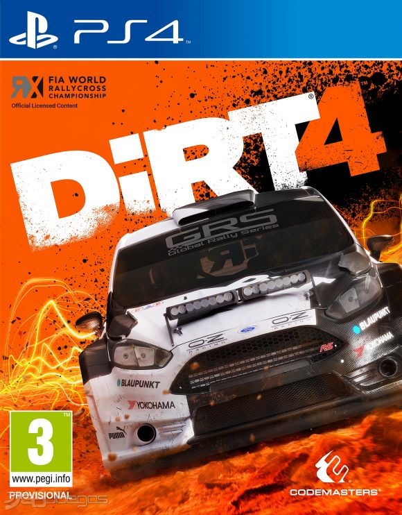 dirt 4 para ps4 3djuegos. Black Bedroom Furniture Sets. Home Design Ideas