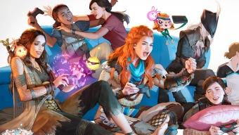 Así se creó la ilustración de las heroínas de PS4 del Día de la Mujer 2019