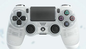 PlayStation 4, Limited Edition Crystal DUALSHOCK 4