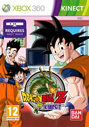 Carátula de Dragon Ball Z For Kinect - Xbox 360