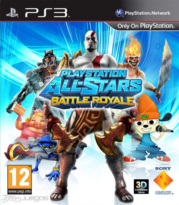 Playstation All Stars Battle Royale Para Ps3 3djuegos