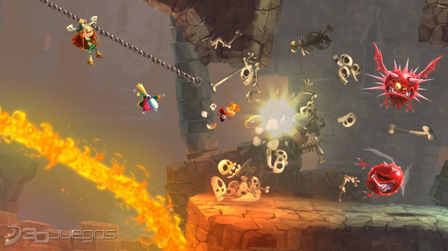 Rayman Legends - An�lisis