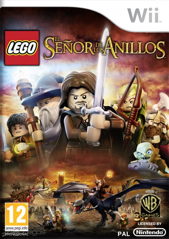 Game Lego Lord Of The Rings Ds