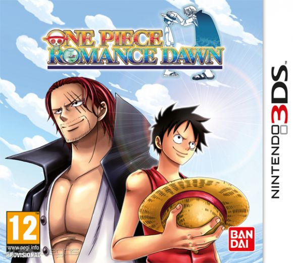 One piece romance dawn para 3ds 3djuegos for One piece juego