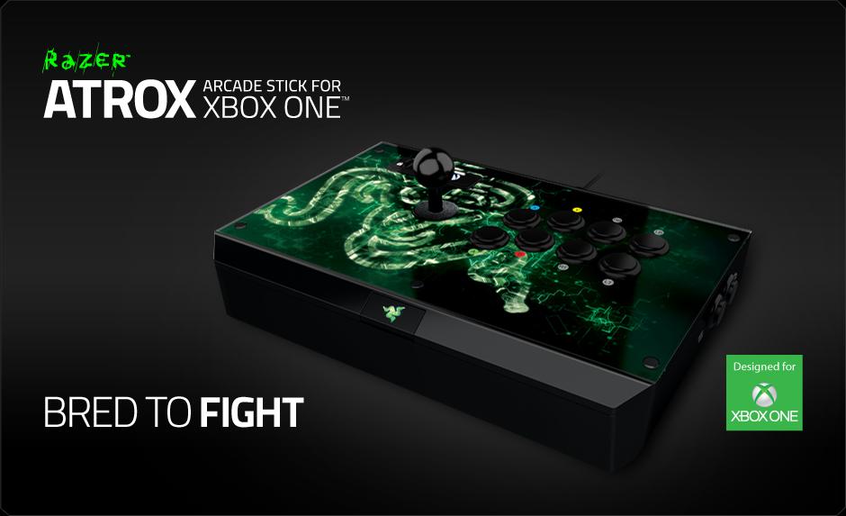 Razer Presenta Su Nuevo Arcade Stick Atrox Para Xbox One 3djuegos