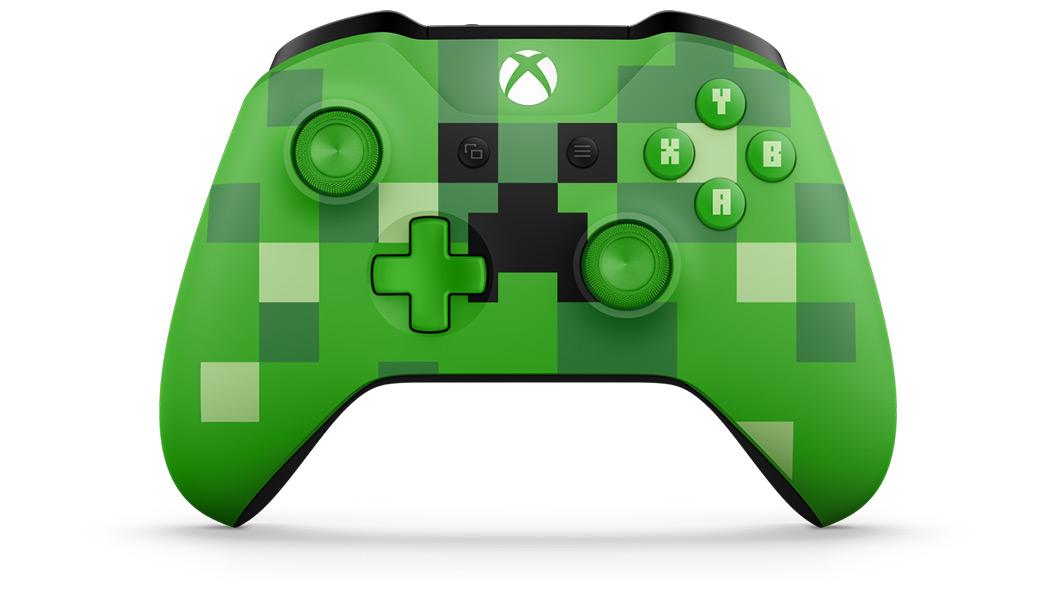 Ya están disponibles los mandos de Xbox inspirados en Minecraft