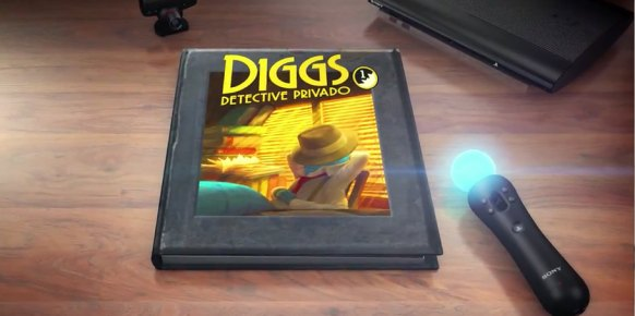 Wonderbook Diggs Detective Privado PS3
