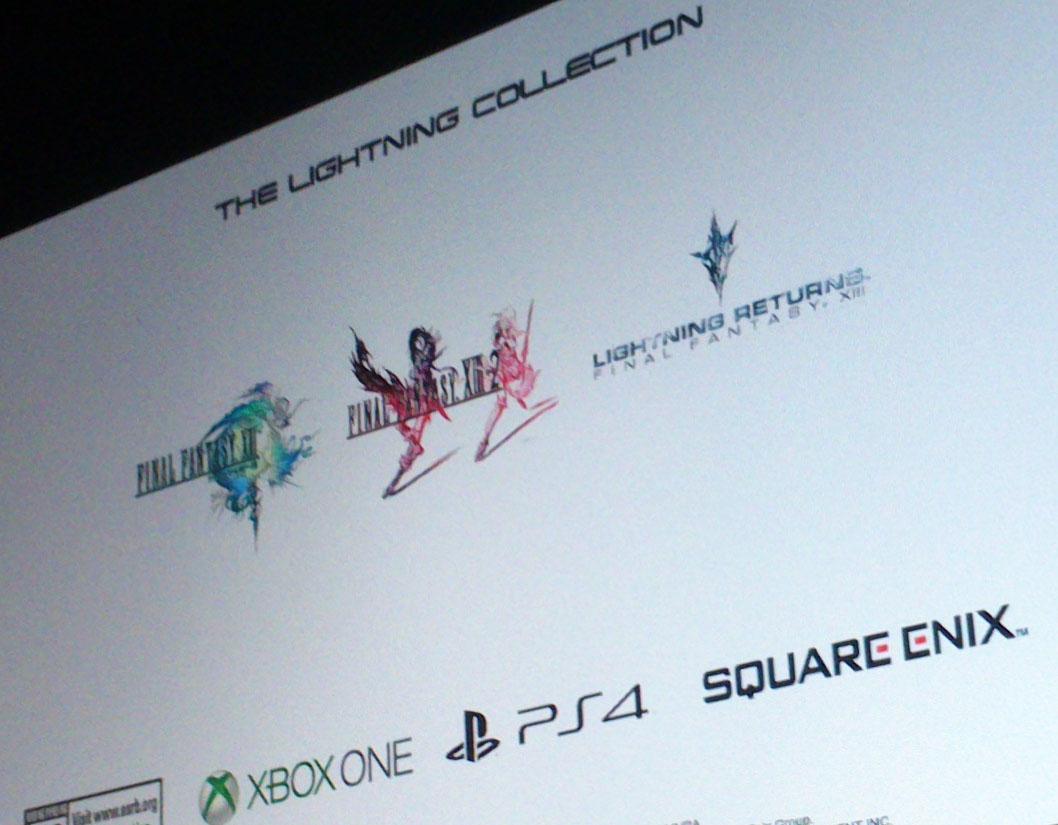 Square Enix podría anunciar en el E3 The Lightning Collection con los tres Final Fantasy XIII