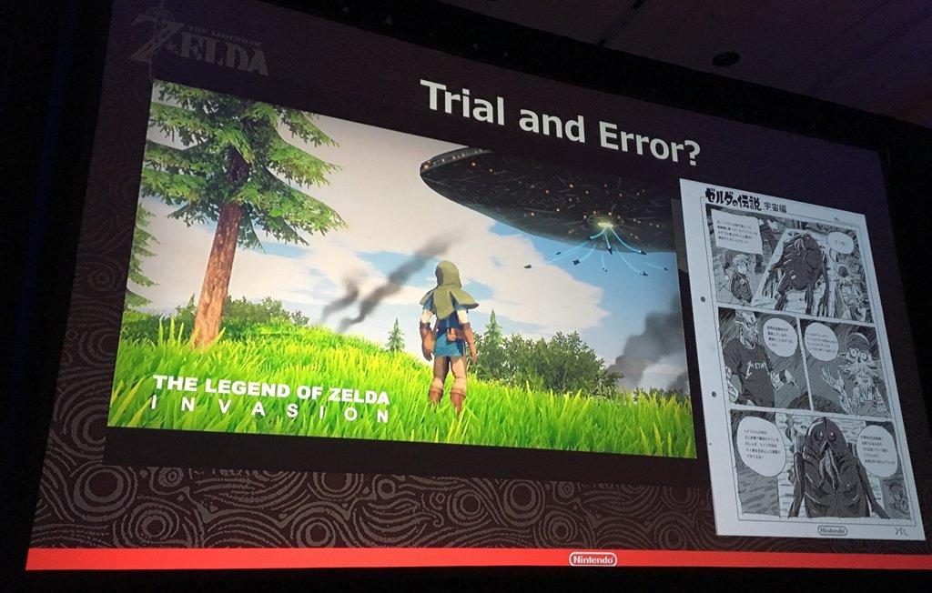 ¿Link sobre una moto? Nintendo y sus locas ideas para The Legend of Zelda