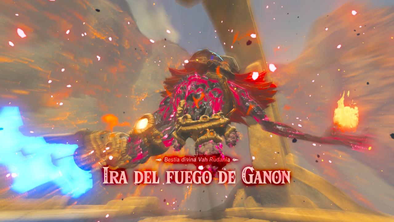 0695d3c67 Guía Zelda Breath of the Wild: Jefe. Ira del fuego de Ganon (Trucos ...