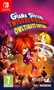 Carátula de Giana Sisters: Twisted Dreams - Nintendo Switch