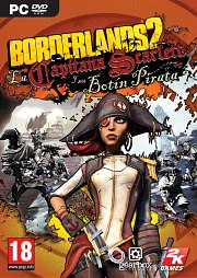 Carátula de Borderlands 2: La Capitana Scarlett - PC
