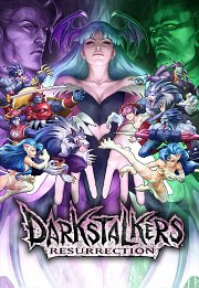 Carátula de Darkstalkers Resurrection - PS3