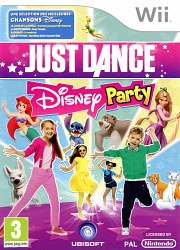 Carátula de Just Dance: Disney Party - Wii