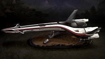 Alucina con esta réplica de la Tempest de Mass Effect Andromeda