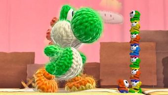 Video Yoshi's Woolly World, ¡Qué esponjoso!
