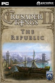 Carátula de Crusader Kings II - The Republic - PC