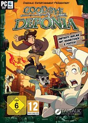 Carátula de Goodbye Deponia - PC