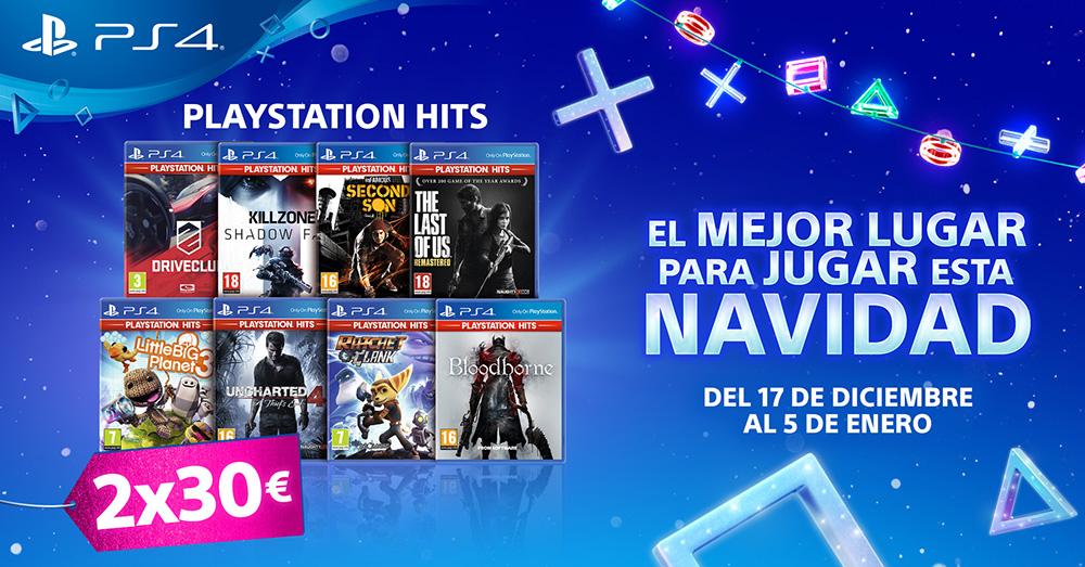 PlayStation España presenta sus ofertas de Navidad