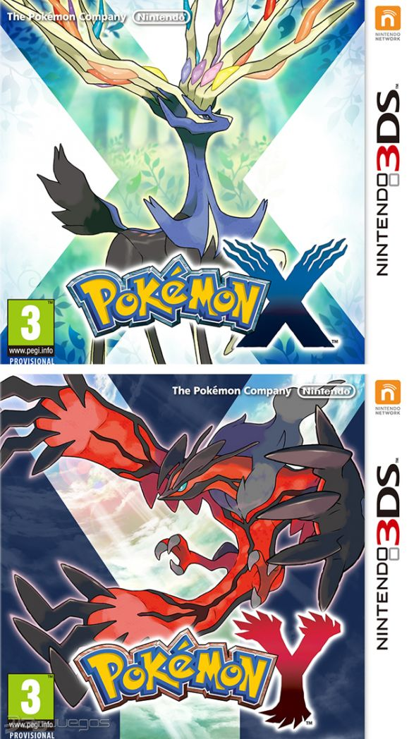 Pokemon X Pokemon Y Para 3ds 3djuegos