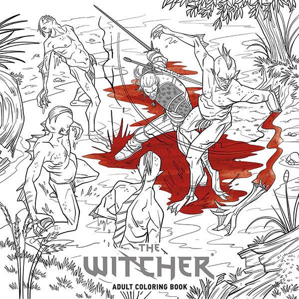 The Witcher tendrá su propio libro de colorear para adultos - 3DJuegos