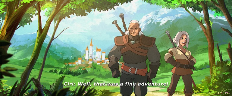 Un artista imagina The Witcher al estilo Studio Ghibli The_witcher_3-4677667