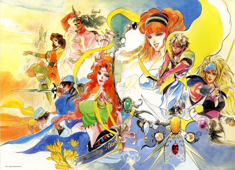 Romancing SaGa es considerado uno de los primeros videojuegos en aplicar un level-scaling dinámico; ya que la progresión estaba atada al equipamiento de sus personajes.