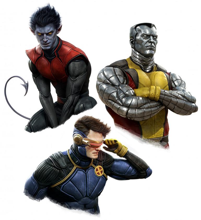 El director de arte de God of War pone ahora su mirada en los X-Men con diseños espectaculares