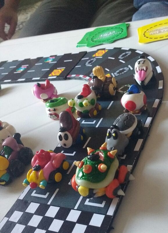 Crean Un Espectacular Juego De Mesa De Mario Kart 3djuegos