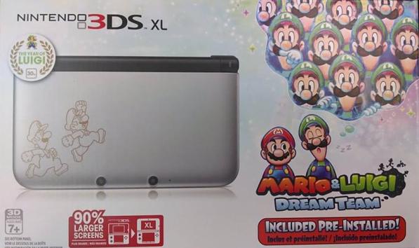 Mario Luigi Dream Team Tendra Bundle En Nintendo 3ds Xl 3djuegos