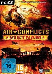 Carátula de Air Conflicts: Vietnam - PC
