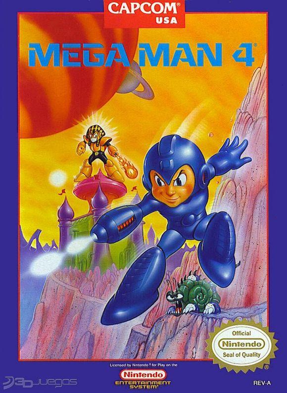 Mega Man 4 Para Nes 3djuegos